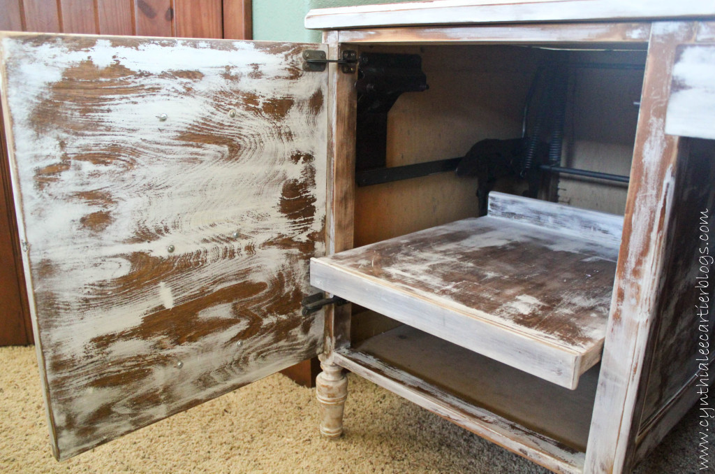 Milk Paint Project: Cottage Desk Restoration