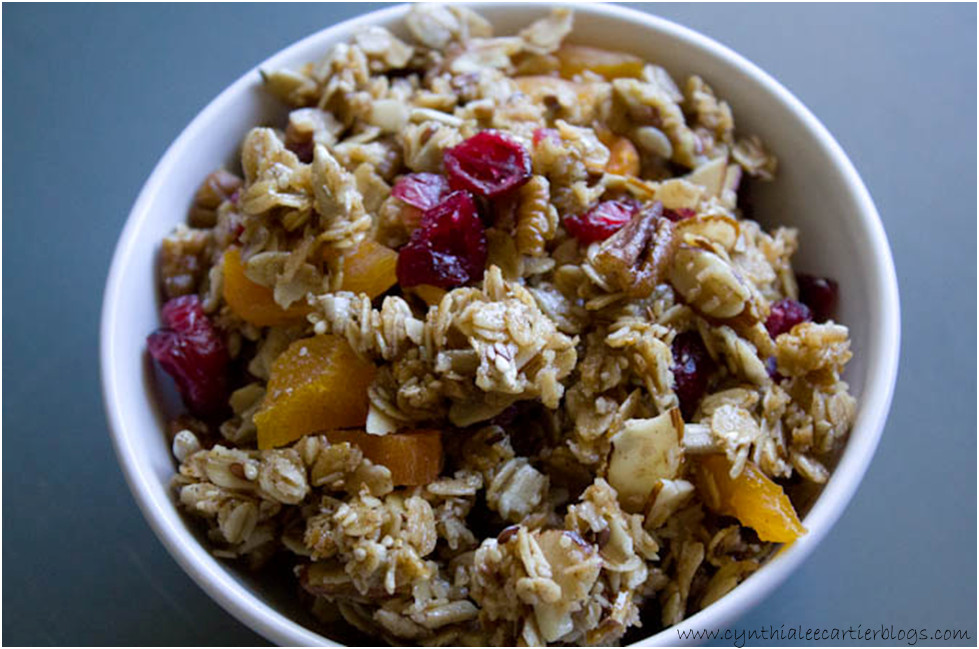 Granola Recipe: Fruit, Nut & Seed Granola Recipe
