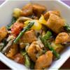 Sweet Potato Recipes -- Crispy Sweet Potato Gnocchi seved in a dish