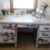 Milk Paint Project: Cottage Desk