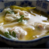 Eggplant Recipes: Lemony Eggplant Wonton Soup