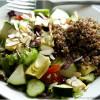 Quinoa Recipes: Beautiful Picture of a Quinoa and Artichoke Heart Salad