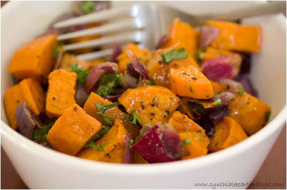 Sweet Potato Recipes: Roasted Sweet Potato Salad