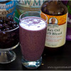 Dairy Free Smoothies - Banana Berry Protein Smoothie