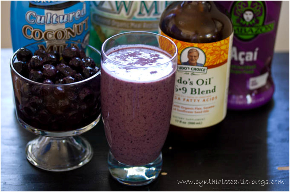 Smoothie Recipes: Banana Berry Smoothie