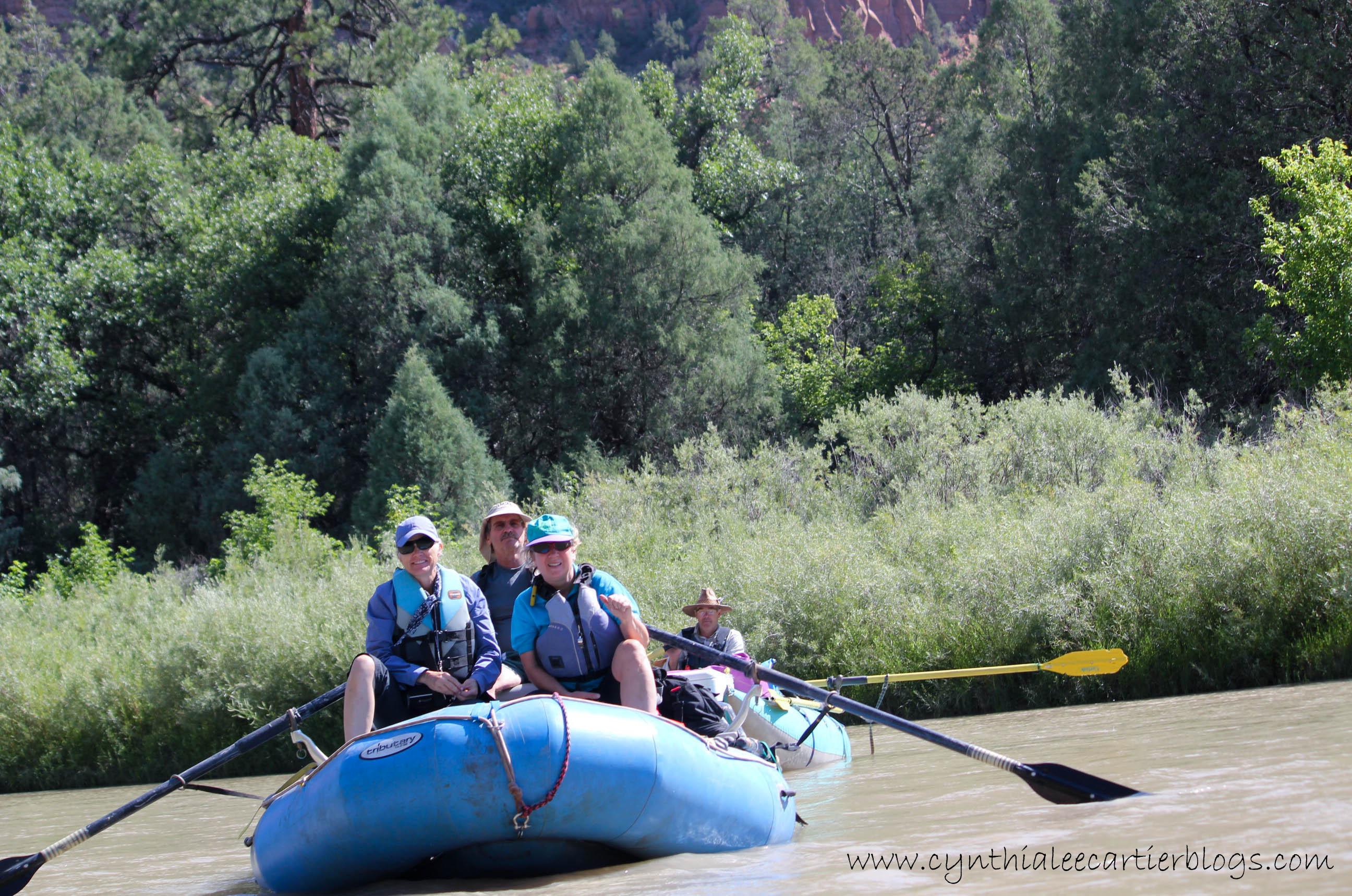 Bucket List River Trip - Dan's Crew Front View
