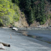 This is a picture of Freshwater Bay Beach in Clallam County, Washington State